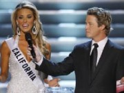 Miss California comes out against gay marriage
