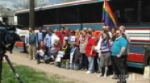 Gay Marriage Bus to Iowa