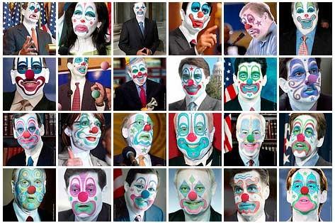 clownfaces