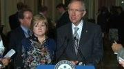Judy Shepard and Senate Majority Leader Harry Reid