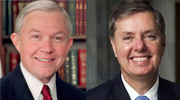 Senators Jeff Sessions and Lindsey Graham