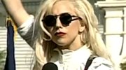 Lady Gaga at National Equality March